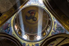 The Holy Sepulchre Church in Jerusalem Royalty Free Stock Photo