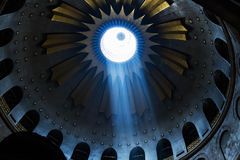 The Holy Sepulchre Church in Jerusalem Stock Photos