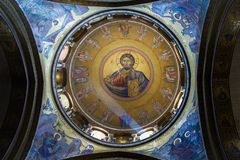 The Holy Sepulchre Church in Jerusalem Royalty Free Stock Photography