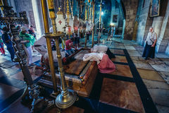 Holy Sepulchre Church Stock Photo