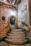 Holy Sepulchre Church stairs Royalty Free Stock Photos