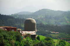 Holy Shiva temple near the town of Ooty, India Stock Image
