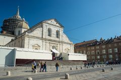 2015 Holy Shroud Exhibition in Torino Royalty Free Stock Photo