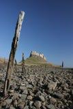 Holy sland, castle on a hill Stock Photos