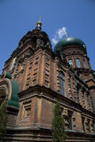 Holy Sophia cathedral Stock Photography