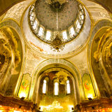 Holy Sophia cathedral. Interior of the Holy Sophia cathedral in Harbin china.Holy Sophia cathedral is centralized type, 77 meters long from east to west, 71.7 royalty free stock images