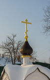 The Holy source of the Tikhvin icon of the Mother of God. Stock Photography