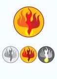 Holy spirit. Art logo , art vector illustration Stock Photography