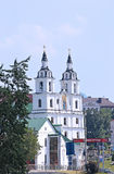 Holy Spirit Cathedral in Minsk Stock Images