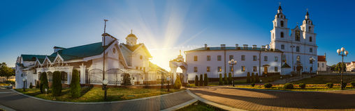 Holy Spirit Cathedral in Minsk Stock Photo