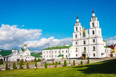 The Holy Spirit Cathedral in Minsk, Belarus Royalty Free Stock Image