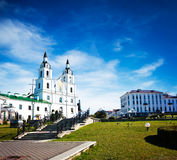 Holy Spirit Cathedral in Minsk, Belarus Royalty Free Stock Photos