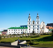 Holy Spirit Cathedral in Minsk, Belarus Royalty Free Stock Image