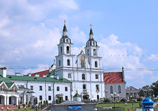 Holy Spirit Cathedral in Minsk Stock Photography