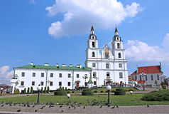Holy Spirit Cathedral in Minsk Stock Photos