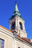 Holy Spirit Church on Old Market Square in Torun. Royalty Free Stock Photo