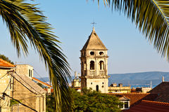 Holy Spirit Church in Omis Royalty Free Stock Photography