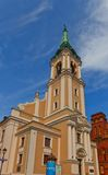 Holy Spirit church (1756) of Torun town, Poland Royalty Free Stock Photo