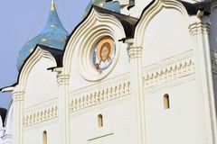 Holy Spirit church of the Trinity Sergius Lavra. Sergiyev Posad, Russia. Popular landmark. UNESCO World Heritage Site royalty free stock photos
