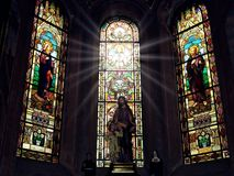 Holy spirit descended beneath us. royalty free stock images