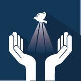 Holy spirit. Design , vector illustration Royalty Free Stock Photos