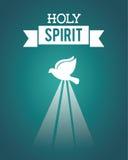 Holy spirit. Design , vector illustration Royalty Free Stock Images
