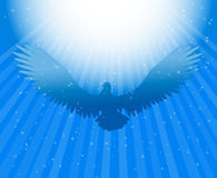 Holy Spirit dove. Power in the holy spirit -vector illustration Stock Photo