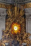 Holy Spirit Dove. ROME, ITALY - OCTOBER 26: Holy Spirit Dove in Vatican on OCTOBER 26, 2009. The Dove symbol of the Holy Spirit above Throne of Saint Peter in Royalty Free Stock Photography