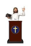Holy Spirit Father Jesus Christ Podium Illustration Royalty Free Stock Photo
