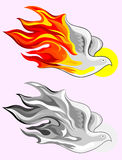Holy spirit fire Stock Photography