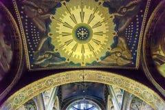 Holy Spirit Mosaic Saint Volodymyr Cathedral Kiev Ukraine. Holy Spirit Mosaic Basilica Saint Volodymyr Cathedral Kiev Ukraine.  Saint Volodymyr was built between Stock Photo