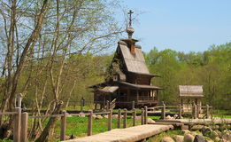 Holy spring of St Sergius of Radonezh Stock Photos
