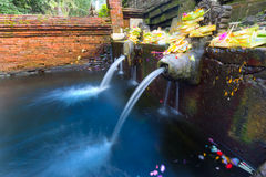 Holy Spring Water Temple,Bali Stock Photography