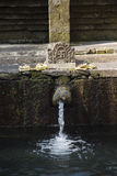 Holy Spring Water Tirta Empul Hindu Temple , Bali Indonesia. Royalty Free Stock Image