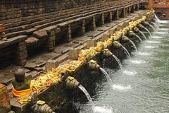 Holy springs - Pura Tirta Empul Royalty Free Stock Image