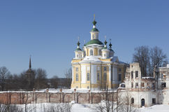 Holy Sumorin monastery and Church of the Ascension Stock Photos