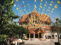 Holy Temple. Thai Temple is Holy Royalty Free Stock Photography