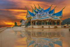 Holy temple in Thailand Royalty Free Stock Photos