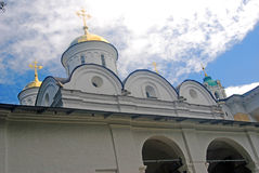 Holy Transfiguration church in Holy Transfiguration Monastery in Yaroslavl, Russia. Stock Image