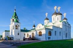 Holy Transfiguration Monastery, Murom, Russia royalty free stock photos