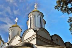 Holy Transfiguration monastery in Yaroslavl, Russia. Stock Images