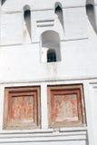 Holy Transfiguration monastery in Yaroslavl, Russia. Old icons. Stock Photo