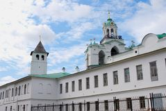 Holy Transfiguration Monastery in Yaroslavl, Russia. Stock Image