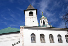 Holy Transfiguration monastery in Yaroslavl, Russia. UNESCO World Heritage Site Royalty Free Stock Photography