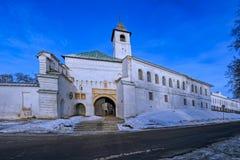 Holy Transfiguration Monastery in Yaroslavl Stock Photography