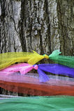 Holy tree with multi-color Fabric Stock Image