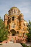 Cloister of Mercy. Holy Trinity Abode of Mercy, Saraktash settlement Stock Photo