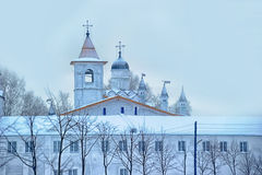 The Holy Trinity Alexander Svirsky Monastery Stock Photography