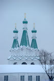 The Holy Trinity Alexander Svirsky Monastery Royalty Free Stock Image