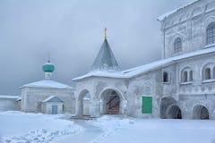 The Holy Trinity Alexander Svirsky Monastery Stock Image